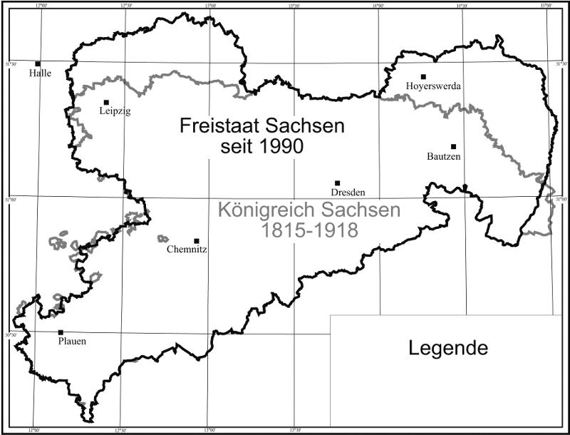 legende einer landkarte